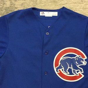Cubs Soler 68 blue men's jersey size S